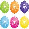 Age 4 - Felice 4th Compleanno Qualatex Palloncini{ Elio Palloncini Festa Bambino