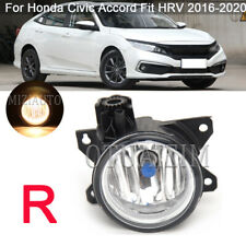 Fog Light Driving Lamp Front Right Side for Honda Civic Accord Fit HRV 2016-2020