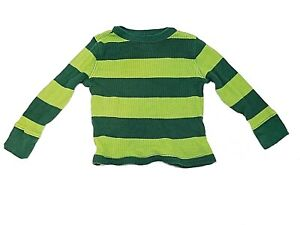 Old navy toddler boys thermal long sleeve top size 2T green