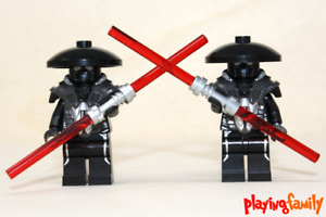 LEGO STAR WARS - 2 Sith Tempelwächter - Figuren aus LEGO®-Teilen - MOC
