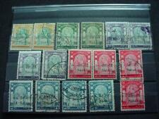 NobleSpirit } Exciting Thailand 1909 Mint & Used Error Vars Selection!