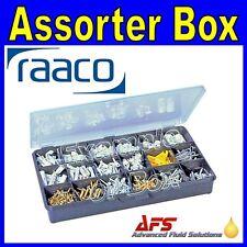 Raaco 18 Fixed Compartment Storage Box Service Case Fishing Bits RA-107938 B18