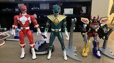 Power Rangers 3 Figure Set (15th, Super Legends Extreme, Retrofire)