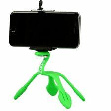 Green GekkoPod Flexible Tripod Gorilla Mount Holder for Smartphones