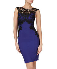 Lipsy Coblat & black lace dress Size 8 RRP £60 Prom Wedding Parties