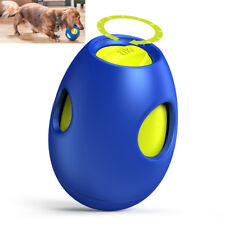 Interactive Dog Snack Activity Toy Treat Dispenser for Dogs to 50 lbs Chew-new