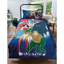 DC Comics Justice League Hero Double Bed Quilt Cover Set
