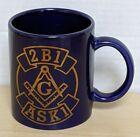 Freemason Masonic Coffee Mug Cup 2B1 ASK1