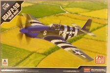 Academy Accurate Miniatures 1/48 USAAF  P-51B WWII Fighter Model Kit