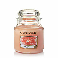 YANKEE CANDLE candela profumata giara media Peony durata 90 ore