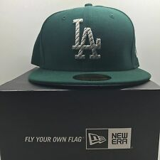New Era 59Fifty Los Angeles Dodgers  7 1/4 Fitted Baseball Cap 6 Free Post