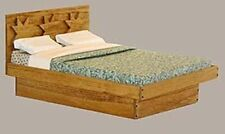 Traditional Platform Bed Woodworking Plans, Twin, Full, Queen and King included