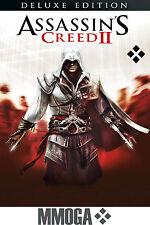 Assassin'S CREED 2 Deluxe Edition Uplay gioco pc codice download-UE regione NUOVO