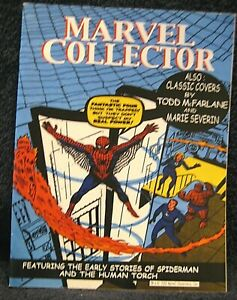 MARVEL COLLECTOR #2 (2002) CANADIAN Fanzine - Spider-Man & Human Torch issue