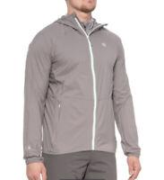 NWT$130 Mens Mountain Hardwear Kor Preshell Hoodie Gray Size 2XL