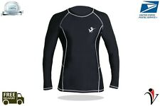 Men's Compression T-Shirt Marvel Top Long Sleeve Fitness Wear Cycling,Yoga White