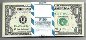 2003A CH/CU $1 NEW YORK BIRTHYEAR STAR PACK SERIAL #B10071901* THRU #B10072000*