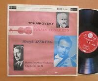 RB-16204 ED1 Tchaikovsky Violin Concerto Henryk Szeryng Charles Munch RCA EX/VG