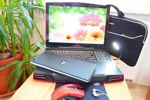Alienware M17x R2 ROT l 17 Zoll FULLHD l BLURAY l 1TB l Radeon 4870 l Core i7 I