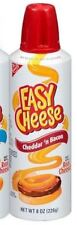 Kraft Squeeze Can Cheddar N Bacon Flavor Easy Cheese Snacks Crackers Game Party