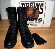 $300+ Drew's Wildlander Boots 8.5 D White's made in USA