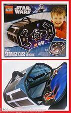 STAR WARS TIE FIGHTER vador LEGO Sac rangement storage case Han solo # NEUF #