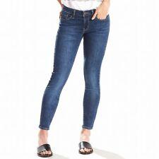 "Levi's Women's Blue Size 28 711"" Skinny-Ankle Mid-Rise Denim Jeans $59 #911"