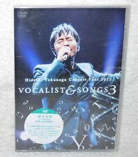 Hideaki Tokunaga Concert Tour 2015 VOCALIST & SONGS 3 Taiwan DVD
