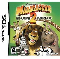 Madagascar Escape 2 Africa Nintendo DS/3DS Kids Game  (To)