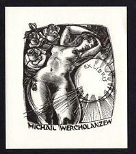42)Nr.147-EXLIBRIS, Gerard Gaudaen, People without clothes