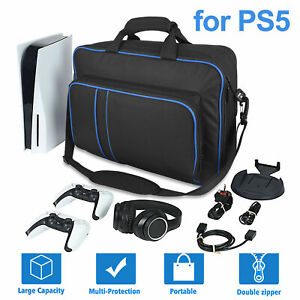 Travel Carrying Case Storage Shoulder Bag Pouch For PS5 Game Console Accessories