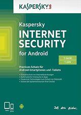 Kaspersky Internet Security for Android | Handy und Tablet | 1 Gerät | Download
