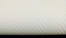09105-10) 1 Rolle edle Vinyltapete WEISS Tapete mit Glasfaser Optik Fischgrät