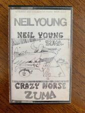 Neil Young - With Crazy Horse / Zuma - 9 Track Cassette Tape Album