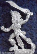 1989 DARK ELF mm73 nous 5 sorcière MARAUDEUR GUERRIER armée Elfes drow Warhammer Citadel
