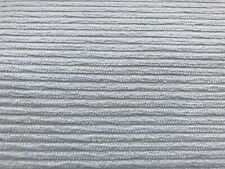 Off White Chenille Cord Upholstery Fabric 3.125 Yds
