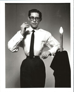 "Self Portrait of Fakir Musafar as ""The perfect Gentleman"" - 4x5 B&W, 1959"