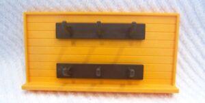 * Playmobil * Wand mit Hakenleiste aus Set 3120 Reiterhof *