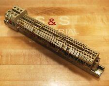 Weidmuller SAK2.5 Terminal Blocks. 750V 2.5mm #VDE0611 - USED