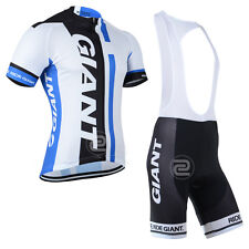 KJ2394 New Men's Mtb Cycling Short Sleeve Jersey and bib Shorts Size S/M/L/XL/XX
