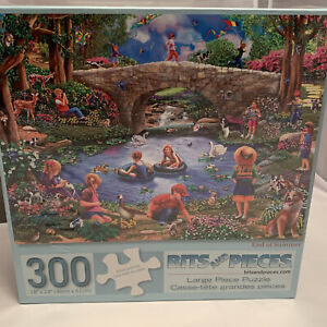 Bits and Pieces Puzzle: End of Summer 300 Pieces, 18 x 24, New & Sealed