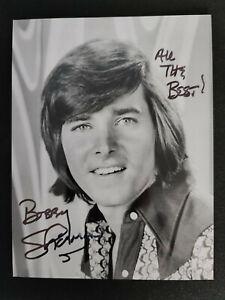 """Bobby Sherman """"USA"""" original Autogramm - signed"""