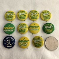 Lot of 11 Come To Sunday School Win I Brought One Vintage Pinbacks Buttons 36601