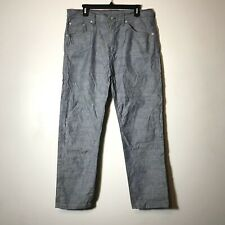 """EUC Raleigh Denim Handcrafted Chambray """"Graham"""" Pants Size 34"""