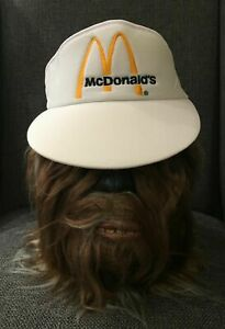 Vintage 1980's McDonald's Employee Visor - Unused Warehouse Stock !