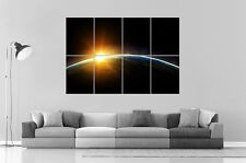 ASTRONOMIE TERRE EARTH ASTRONIMY Wall Art Poster Grand format A0 Large Print