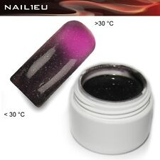 UV Thermo Gel 24 darknude - Pink Metallic 5ml / Nail ColorGel Color