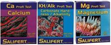 SALIFERT ALKALINITY CALCIUM MAGNESIUM (KH/CA/MG) COMBO AQUARIUM WATER TEST KIT