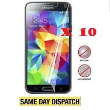 10 X Samsung Galaxy S4 Anti-glare (mate) Protectores De Pantalla Film Cover & Cloth