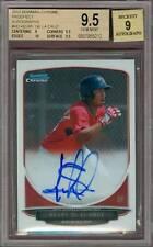 2013 Bowman Chrome Keury De La Cruz BGS 9.5 10 Auto Rookie Red Sox